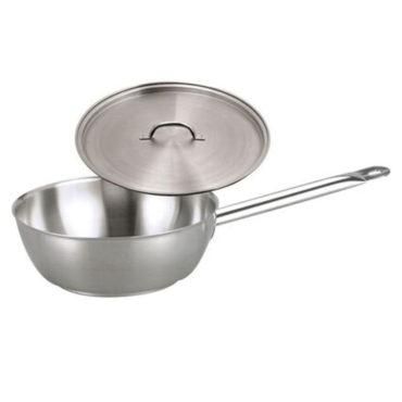 Chef Inox Elite S/Steel Saute Pan 3.7Ltr – with lid