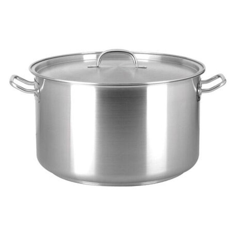 Chef Inox Elite S/Steel Saucepot 10.25Ltr – with lid