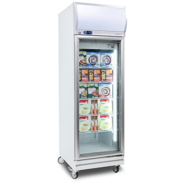 Bromic Upright Freezer Single Glass Door