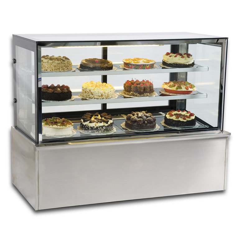 Vienna S760V Refrigerated Cake Display (Square)