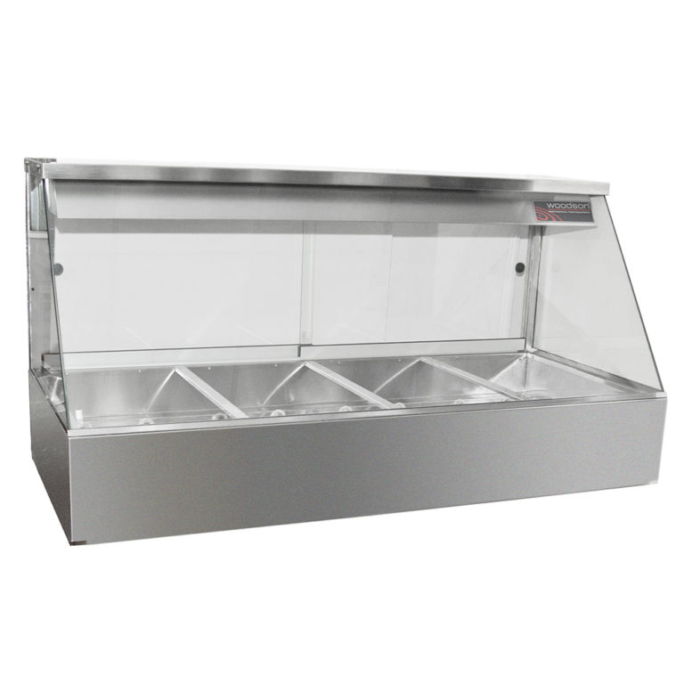 Woodson W.HFS22 Hot Food Display (Straight Glass)