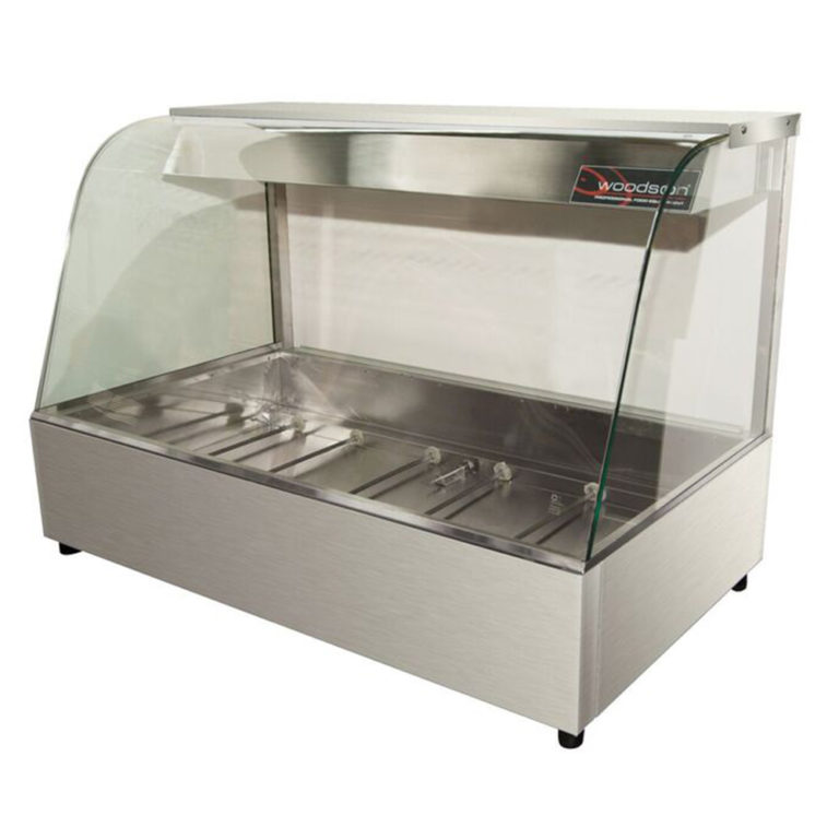 Woodson W.HFC22 Hot Food Display (Curved Glass)