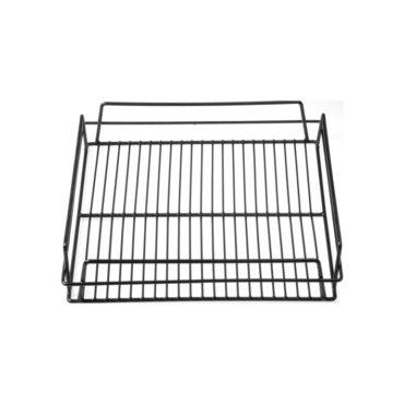 Chef Inox Black PVC Coated Wire Glass Basket