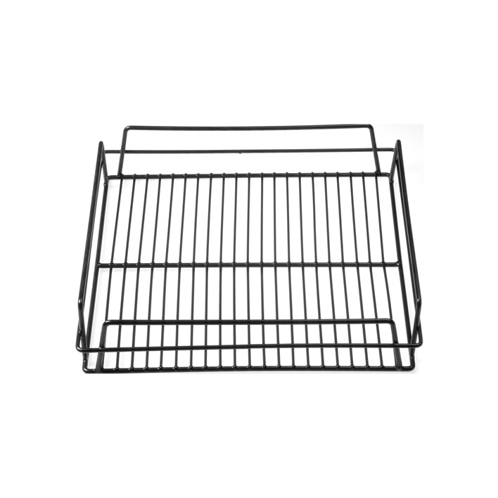 Chef Inox Black PVC Coated Wire Glass Basket