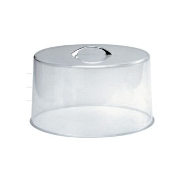 Chef Inox Clear Cake Cover – Chrome Handle