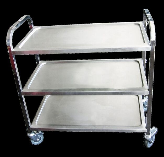 KSS 15-3T S/Steel 3 Tier Trolley