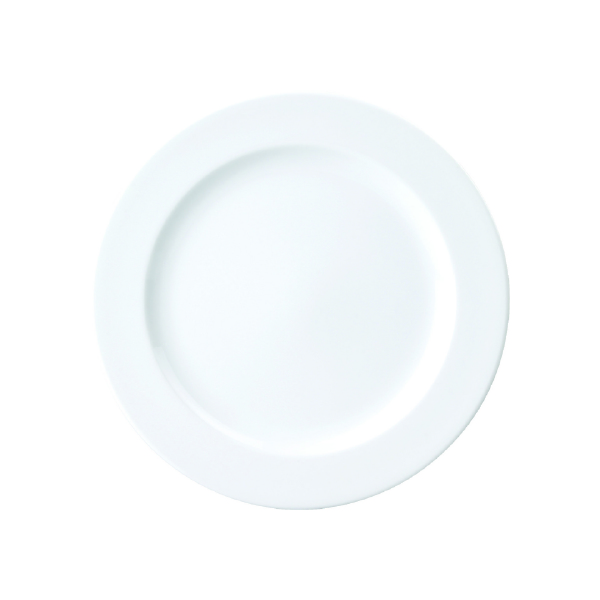 Royal Porcelain Chelsea Plate Flat with Rim 280mm (Pack of 12)