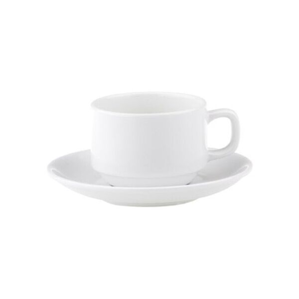 Royal Porcelain Chelsea Stackable Cup 200ml (Carton of 48) (Saucer 94049 sold seperately)