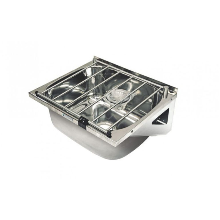Stainless Steel Cleaners Sink Free Standing With Legs