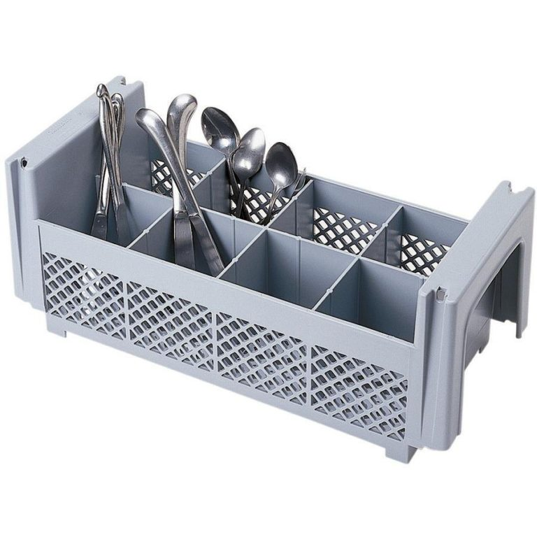 Cambro Dishwasher Cutlery Rack – 8 Compartment