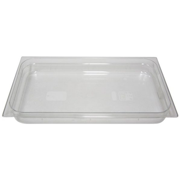 Polycarb PC-11065CL Gastronorm Clear Food Pans 1/1 65mm Deep