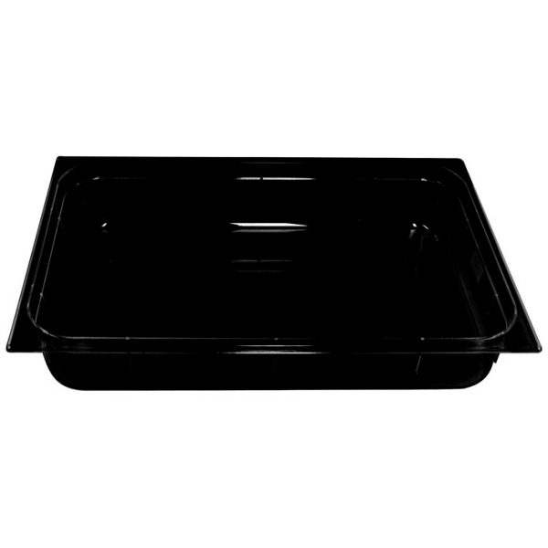 Polycarb PC-11100BK Gastronorm Black Food Pans 1/1 100mm Deep