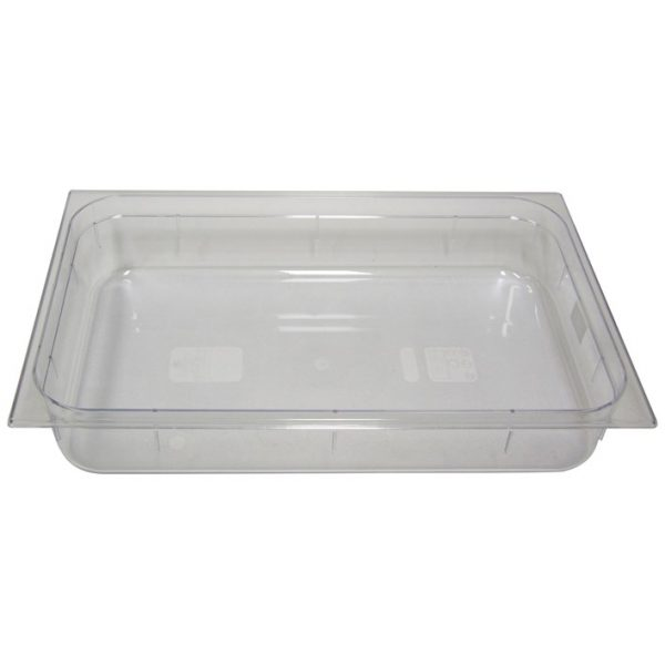 Polycarb PC-11100CL Gastronorm Clear Food Pans 1/1 100mm Deep