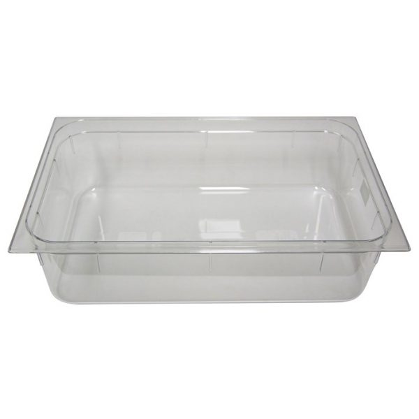 Polycarb PC-11150CL Gastronorm Clear Food Pans 1/1 150mm Deep