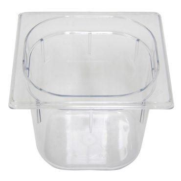 Polycarb PC-16150CL Gastronorm Clear Food Pans 1/6 150mm Deep