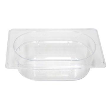 Polycarb PC-19065CL Gastronorm Clear Food Pans 1/9 65mm Deep