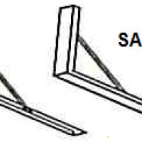SA-SS Salamander Wall Brackets