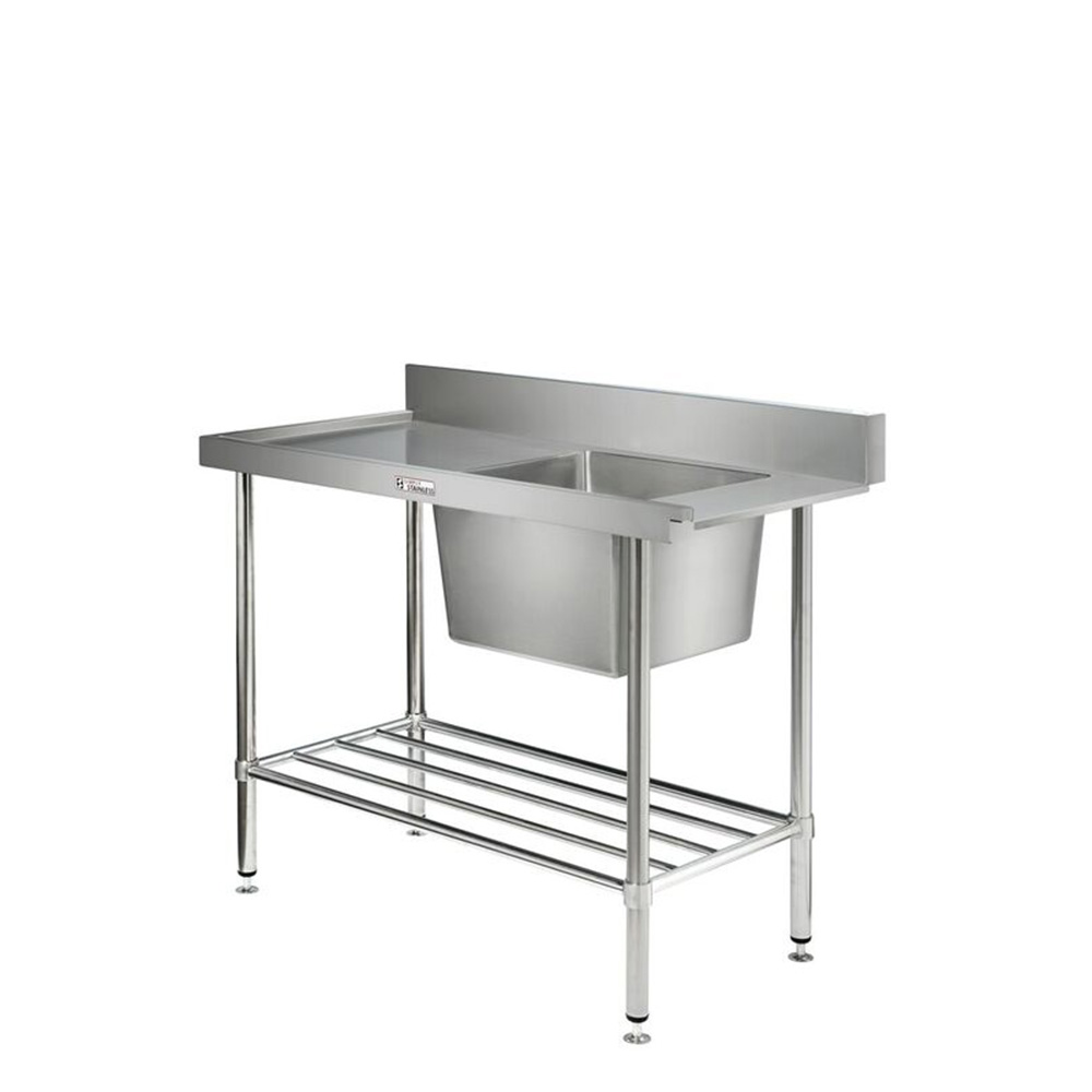 Simply Stainless S Steel Dishwasher Inlet Sink Bench