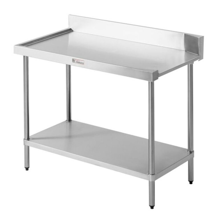 Simply Stainless S/Steel Dishwasher Outlet Bench SS07.7.1200 Left to Right Flow – 1200mm