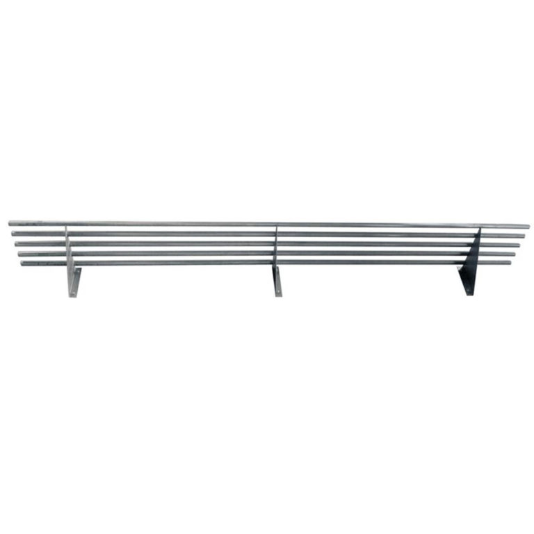 KSS S/Steel Tubular Wall Shelf – 1500mm