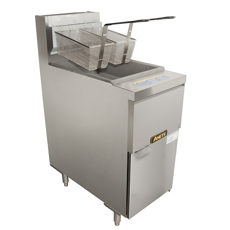 Gas Fryer With Griddle Gas ~ Anets gs cs high performance gas fryer