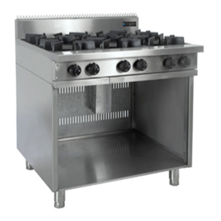 Oxford 6BBT Gas Cook Top on Stand