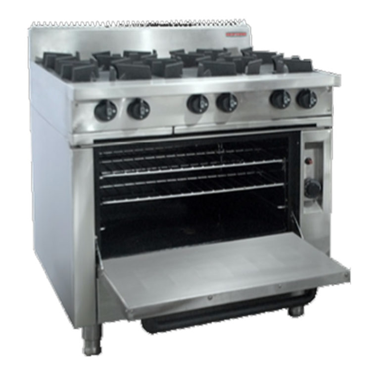Oxford 6BBT-OV Gas Oven Range