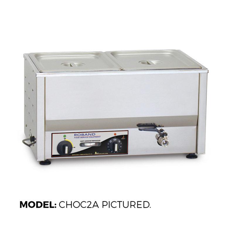 Roband Chocolate Tempering Bain Marie – CHOC2A