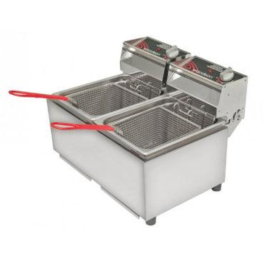 Woodson W.FRT80 Double Fryer – 8 Litre