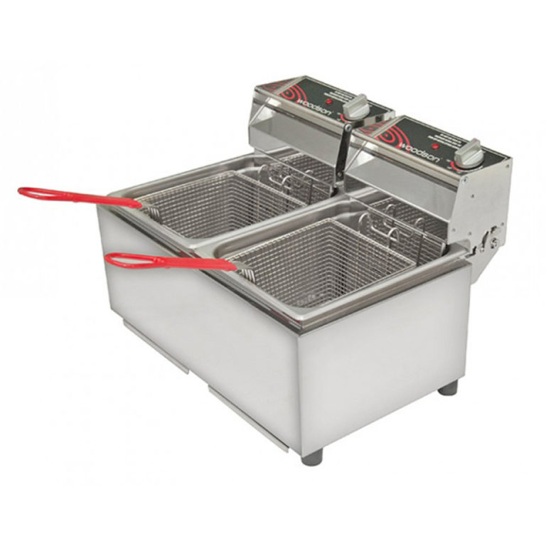 Woodson W.FRT80 Double Fryer – 8 Litre