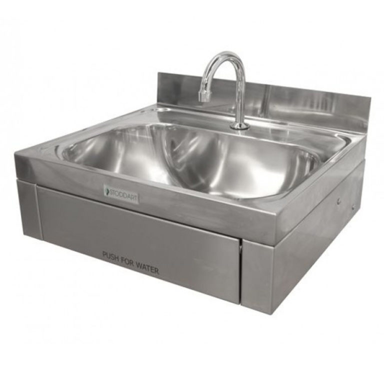 Stoddart Stainless Steel Hand Basin (Knee Operated Model: WB.KO1.300)