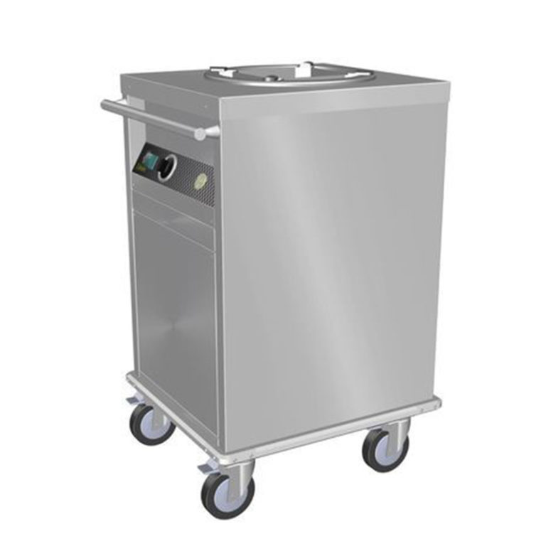 Mobile Heated Plate Dispenser (Single Tube) Culinaire CAPD1