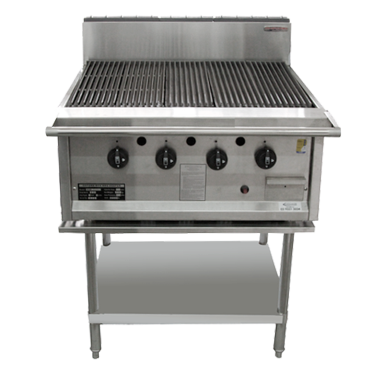 Oxford RCGD Char Grill on Stand – 800mm Wide
