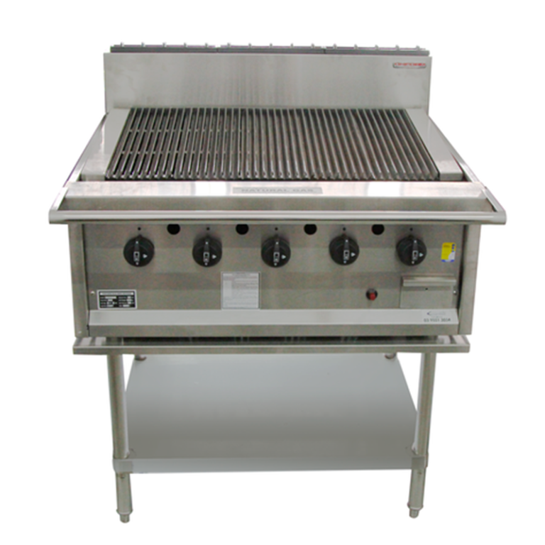 Oxford RCGD Char Grill on Stand – 900mm Wide