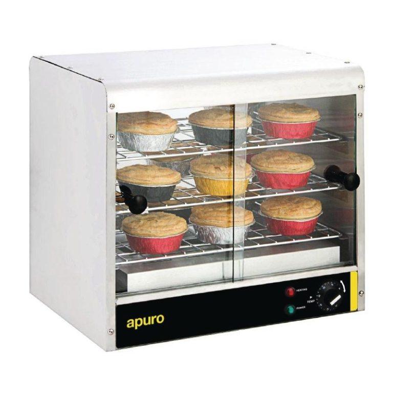 Apuro GF454 Pie Warmer (30 Capacity)