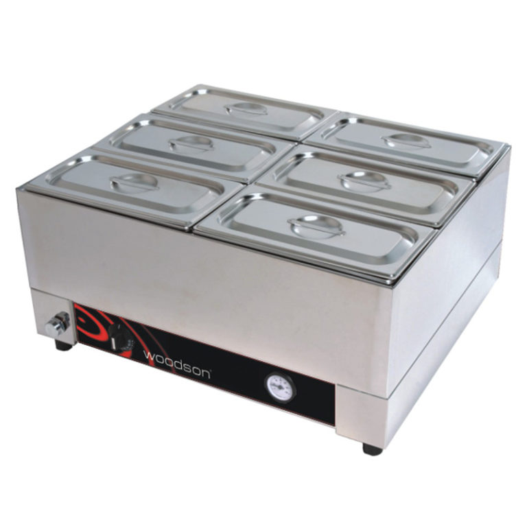 Woodson Benchtop Bain Marie – 2/1 GN Size