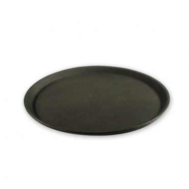 Non-Slip Round Plastic Serving Trays 280mm