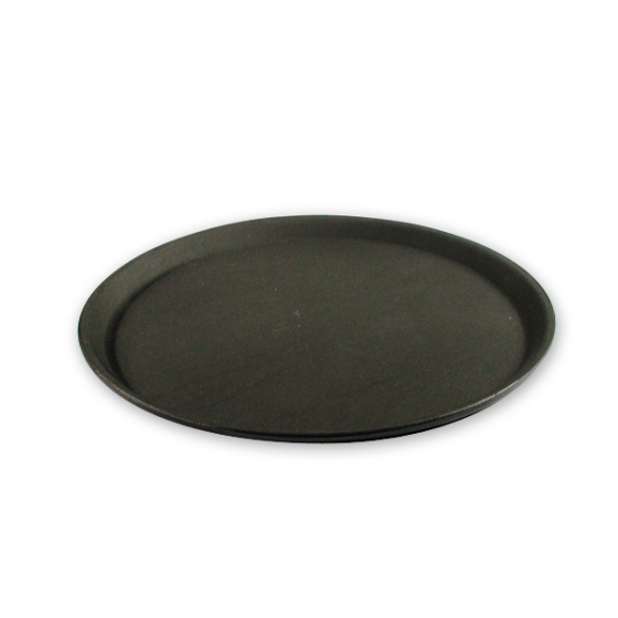 Non-Slip Round Plastic Serving Trays 280mm