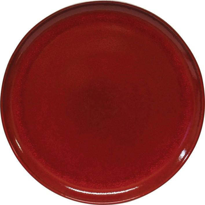 Artistica 'Stoneware' Pizza Plate Reactive Red 330mm