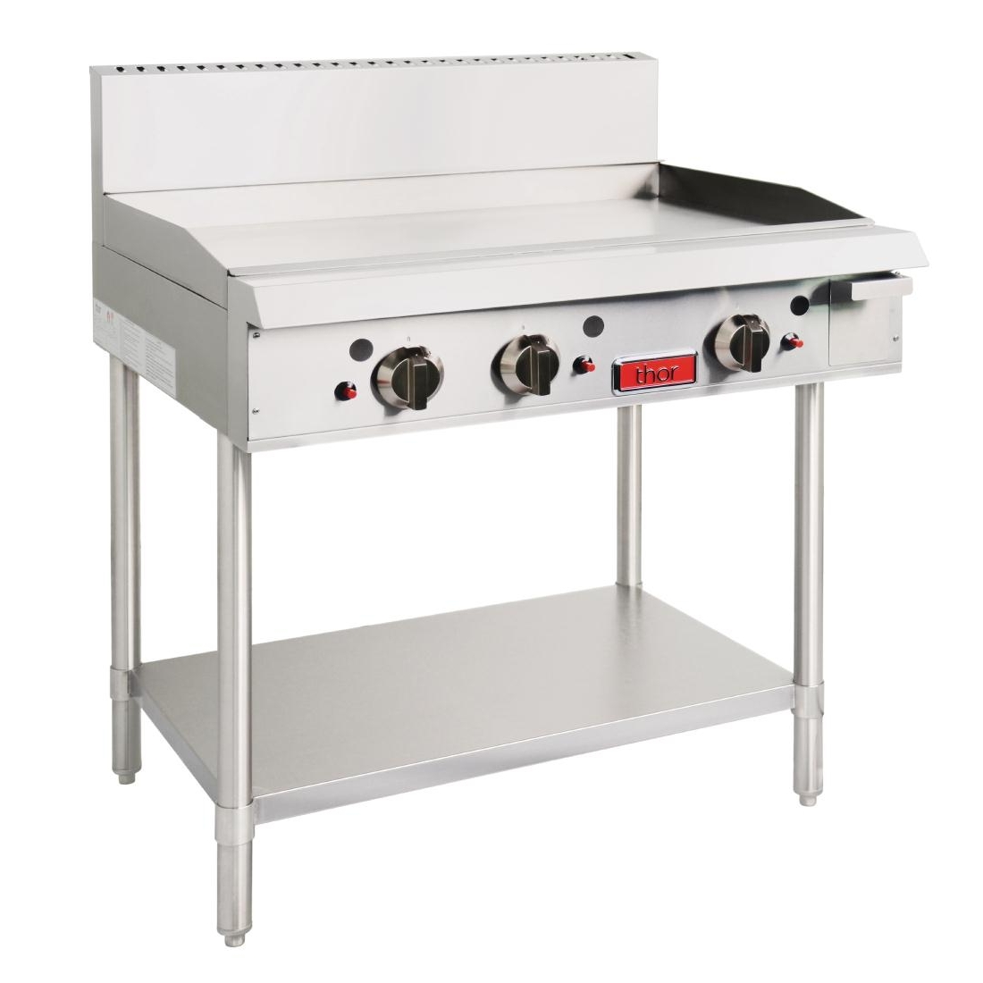 Gas Griddle Table ~ Thor gas griddle mm wide with stand