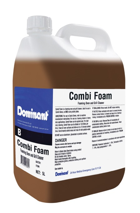 Dominant Combi Foam Heavy Duty Liquid Oven Cleaner
