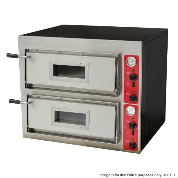 Black Panther EP-1-SDE Pizza Double Deck Oven