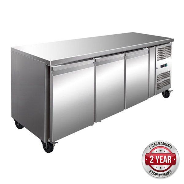 Thermaster GN3100BT Under-Counter Freezer (Three Door)