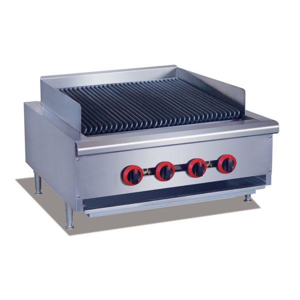 Gasmax QR24E Gas Char Grill – 4 Burners