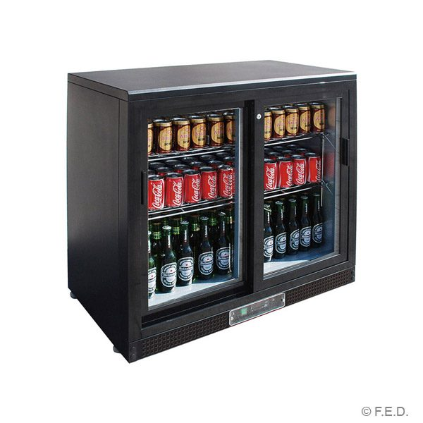 Thermaster SC248SD Bar Fridge (Two Sliding Doors)