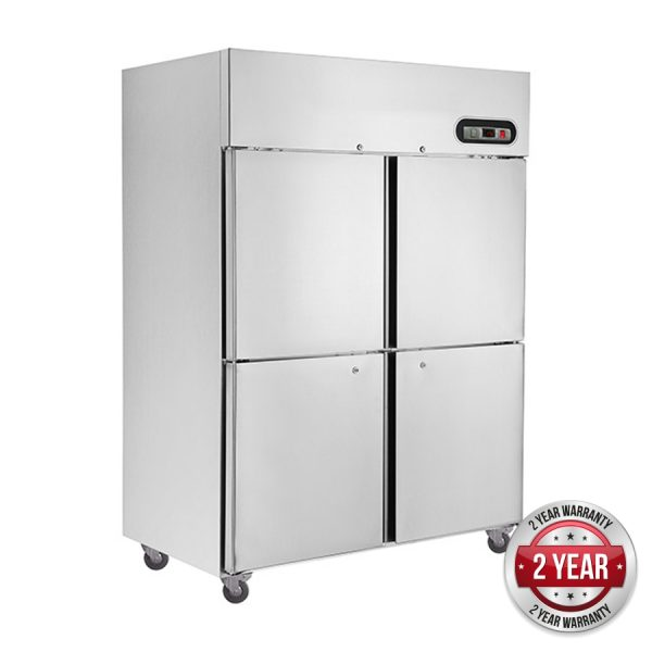 Thermaster SUC1000 Split Door Upright Fridge