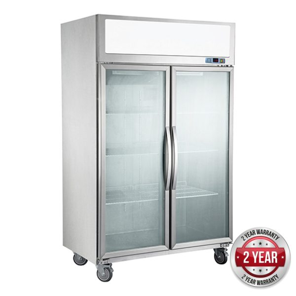 Thermaster SUCG1200 Two Door Upright Fridge – Extra Large