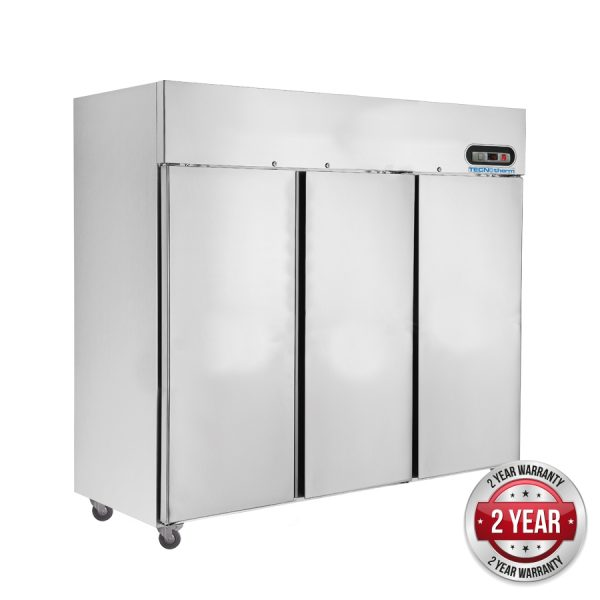 Thermaster SUF1500 Three Door Upright Freezer