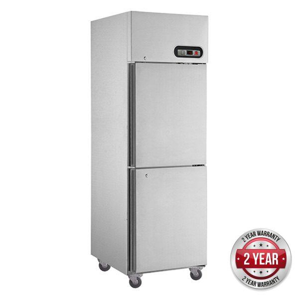 Thermaster SUF600 Split Door Upright Freezer