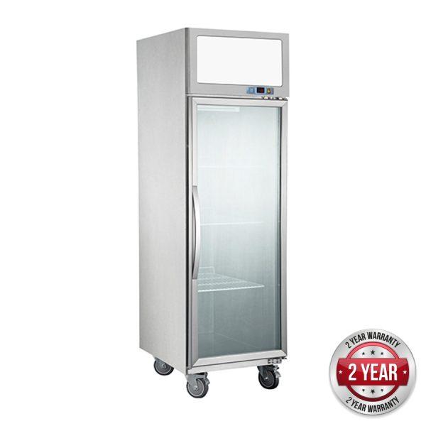 Thermaster SUFG500 Single Glass Door Upright Freezer